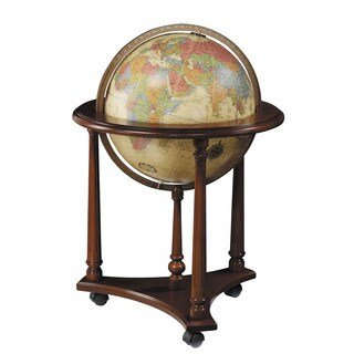 Lafayette Illuminated Floor World Globe