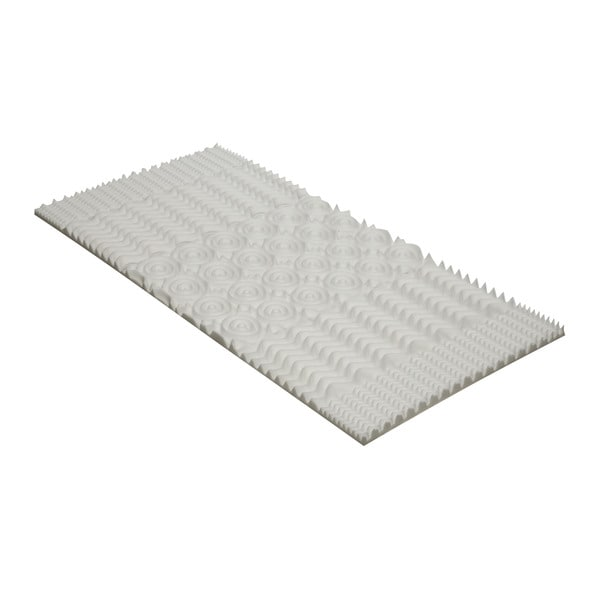 Convoluted Memory Foam Mattress Topper