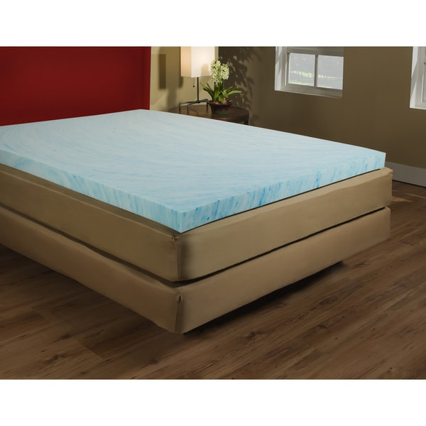3.5 inch Gel Memory Foam Mattress Topper
