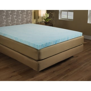 15inch gel memory foam mattress topper