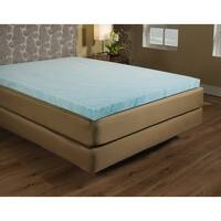 1.5-inch Gel Memory Foam Mattress Topper