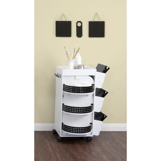 Studio Designs White Swivel Organizer