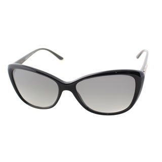 Versace Women's VE 4264B GB1/11 Shiny Black Cateye Sunglasses