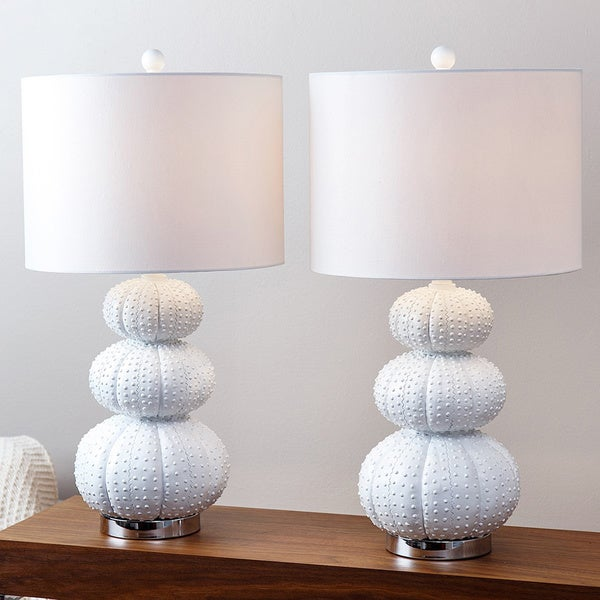 Abbyson Stacked Sea Urchin Lamp Set Of 2 Free Shipping Today