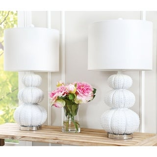 Abbyson Stacked Sea Urchin Lamp (Set of 2)