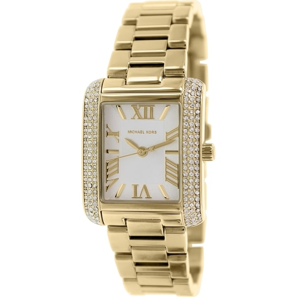Michael Kors Emery Champagne Dial Women's Watch MK3324