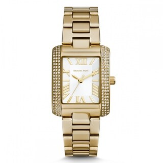 Michael Kors Women's MK3324 Petite Emery Goldtone Watch