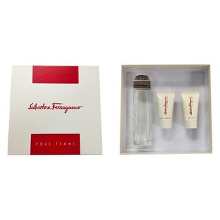 Salvatore Ferragamo Women's 3-piece Gift Set