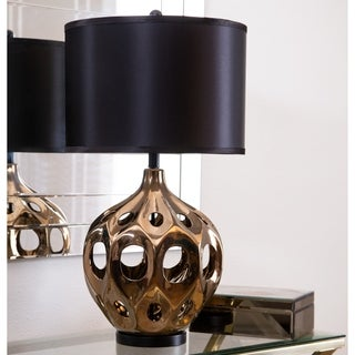 Abbyson Eva Ceramic Large Table Lamp