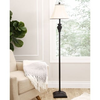 ABBYSON LIVING Elena Ebony Floor Lamp