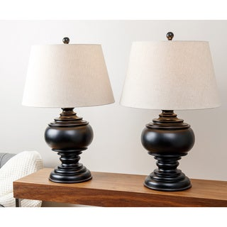 ABBYSON LIVING Burma Ebony Table Lamp (Set of 2)