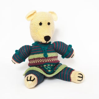 Sitara Collections Handmade Plush Teddy Bear (India)