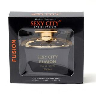 Parfums Parisenne Sexy City Fusion Women's 3.4-ounce Eau de Parfum Spray (Window Box)