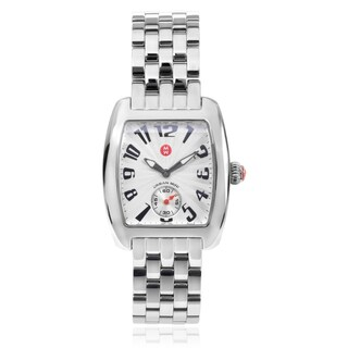 Michele 'Mini Urban' MWW02A000156 Stainless Steel Link Watch