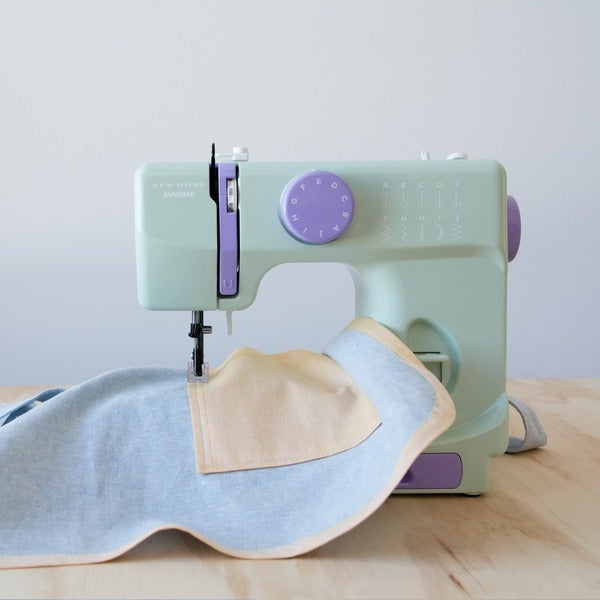 Shop Janome Mystical Mint Basic EasytoUse 40stitch Portable 40 Beauteous Using A Sewing Machine For Beginners