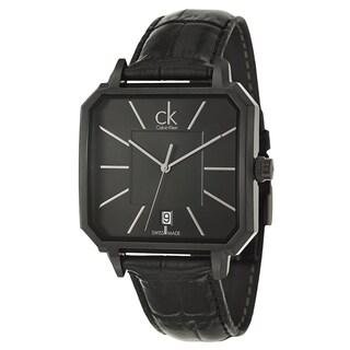 Calvin Klein Men's 'Concept' Stainless Steel Black Swiss Quartz Watch