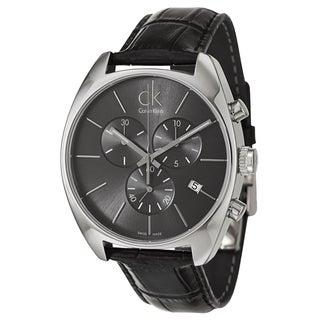 Calvin Klein Men's 'Exchange' Stainless Steel Swiss Quartz Watch