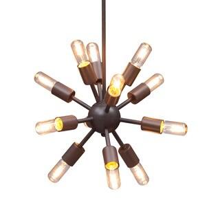12-light Sapphire Multi-directional Ceiling Lamp