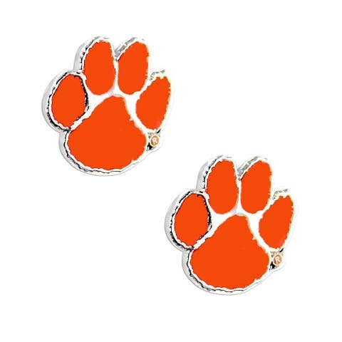 NCAA Clemson Tigers Post Stud Earring Charms
