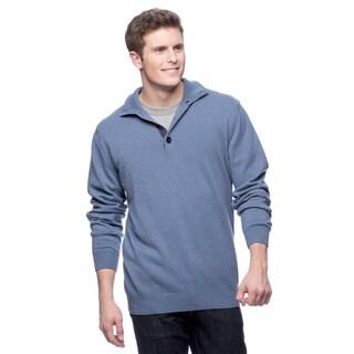 Luxury 100-percent Cashmere Mock Neck Sweater