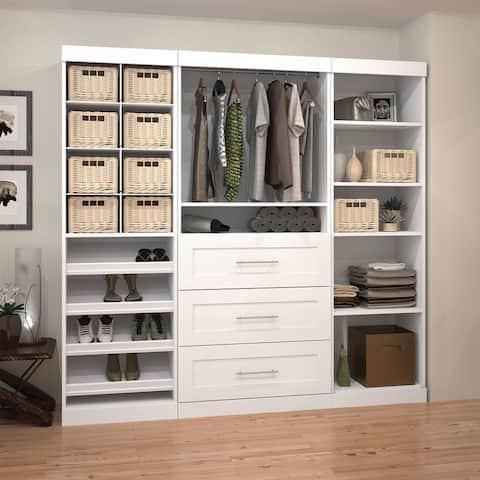 Pur by Bestar 86-inch Closet Organizer Set