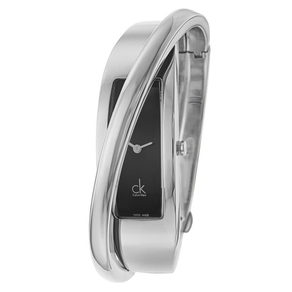 Calvin Klein Women's 'Feminine' Stainless Steel Swiss Quartz Watch
