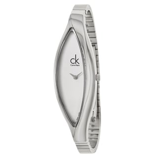 Calvin Klein Women's 'Sensitive' Stainless Steel Swiss Quartz Watch