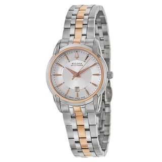 Bulova Accutron Women's 'Sorengo' Stainless Steel Swiss Quartz Watch