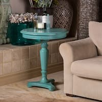 Christopher Knight Home Bayberry Blue Accent Table