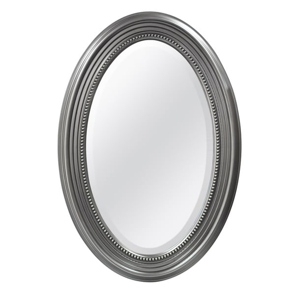 MCS Industries Silver Beaded Oval Wall Mirror