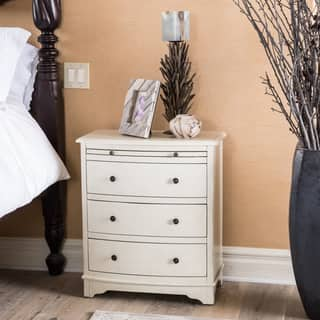 Christopher Knight Home Crystal Hill Burnished Ivory Three Drawer Chest|https://ak1.ostkcdn.com/images/products/9626047/P16812161.jpg?impolicy=medium