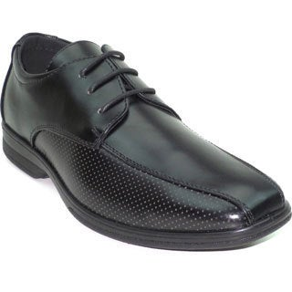 "Blue Men's ""Noah"" Shiny Faux Leather Dress Shoe"