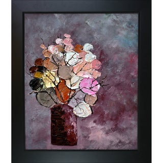 Pol Ledent 'Still Life (452120)' Framed Canvas Print