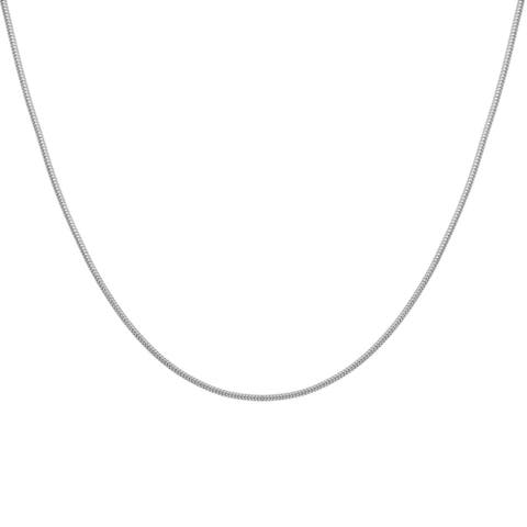 Sterling Silver 1.5mm Snake Chain Necklace (16-30 inch)