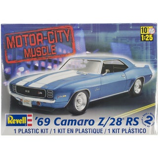 Plastic Model Kit-'69 Camaro Z/28 1/25