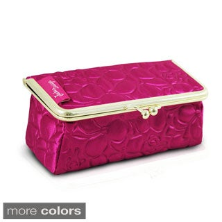 Jacki Design Royal Blossom Clasp Travel Cosmetic Bag