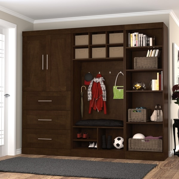 Shop Pur By Bestar Mudroom Kit Free Shipping Today