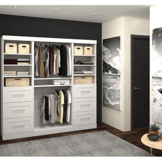 Pur by Bestar 86-inch Classic Kit Storage Unit (3 options available)
