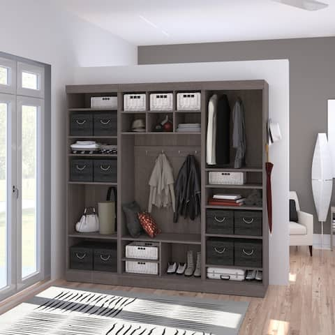 Pur by Bestar 86-inch Mudroom Kit - 86""
