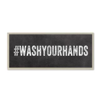 #Washyourhands Wall Plaque
