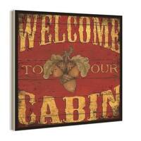 Welcome to Our Cabin Wall Hanging