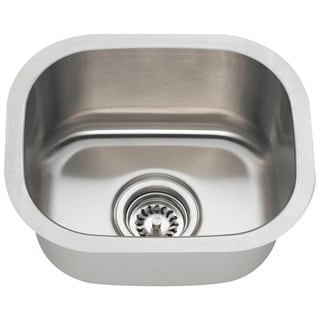 MR Direct 1512 Stainless Steel Bar Sink