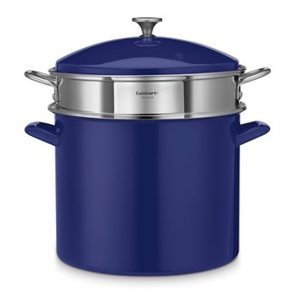 Cuisinart Chef's Stainless Steel 20-quart Blue Stockpot
