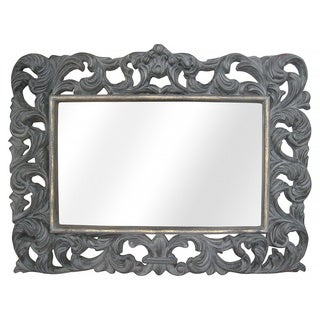 Legion Furniture Antique Grey Wall Mirror
