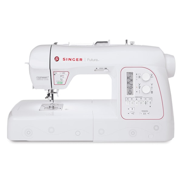 Shop Singer Futura XL40 Embroidery Sewing Machine Free Shipping Stunning How To Thread A Singer Futura Sewing Machine