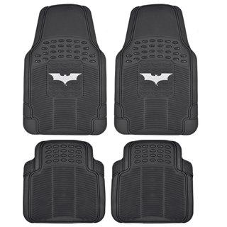 BDK Batman Rubber Floor Mats 4-Piece Dark Night Officially Licensed Products
