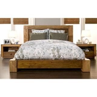 Alpine Furniture Jimbaran Bay Platform Bed, Tobacco