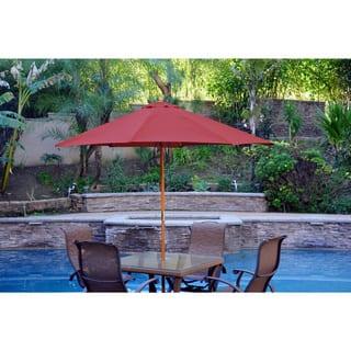 Wood Patio Umbrellas Shades Store Shop The Best Deals For Nov - Outdoor patio umbrellas