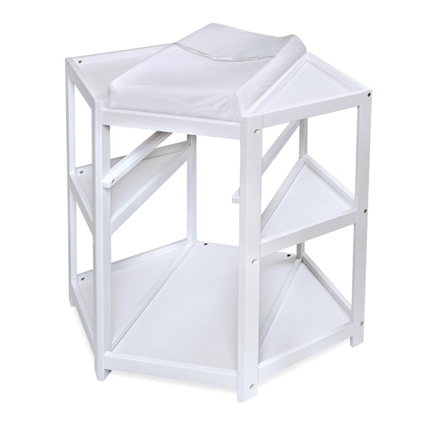 Diaper Corner Baby Changing Table   Free Shipping Today   Overstock.com    16813066