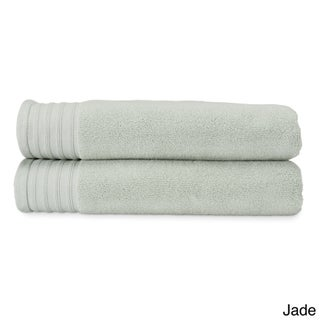 Amraupur Overseas Quick Dry Combed Cotton Oversized Bath Sheet (Set of 2) (More options available)
